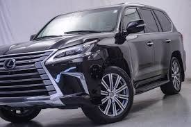 lexus lx 570 black interior pre owned 2016 lexus lx 570 suv in warrenville um2606 ultimo motors