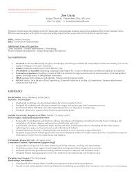 Resumes For Management Positions Entrepreneur Resume And Cover Letter What To Include