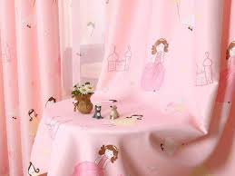 curtain pureaqu pink princess curtains for kids bedding room sears
