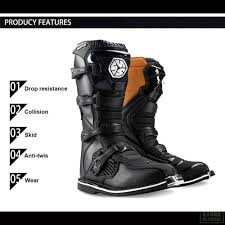 comfortable motorcycle riding boots scoyco waterproof pu motorcycle boots motocross off road racing