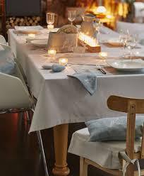 rideaux sylvie thiriez nappe coton chambray gris nuit blanche 160x300 sylvie thiriez
