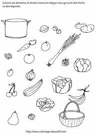 coloriage légume les beaux dessins de nature à imprimer et