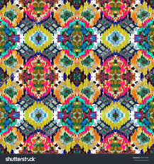 Tribal Print Wallpaper by Ethnic Seamless Pattern Ethnic Boho Ornament Stock Illustration