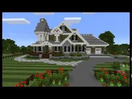 victorian style mansions ancient builds victorian style mansion minecraft pe youtube