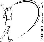 golf woman clip art and illustration 899 golf woman clipart