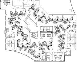 Cubicle Floor Plan by Herman Miller Resolve
