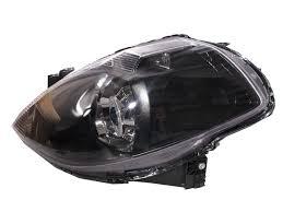 nissan tiida black tiida latio c11 04 12 ccfl angel eye projector headlight hid black
