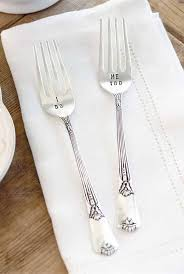 wedding silverware pie wedding forks i do me
