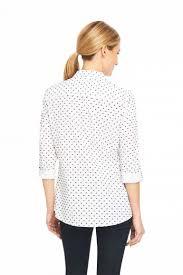 swiss dot blouse foxcroft swiss dot blouse