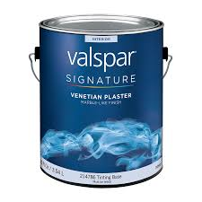 shop valspar tintable flat venetian plaster latex interior paint