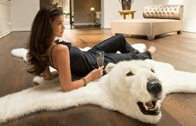 Taxidermy Bear Rug Wonderful Inspiration Polar Bear Rug Magnificent Ideas Polar Bear