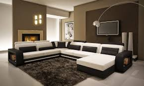 Black And White Bedroom Chaise Living Room Splendid Living Room Decor With Black And White