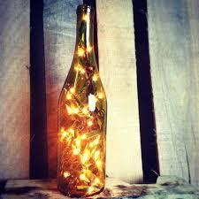 Wine Bottles With Lights Lights For Wine Bottles U0026 More Craft Christmas Lights