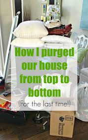 How To Declutter Basement After The Konmari Purge I U0027m Done From Thrifty Decor