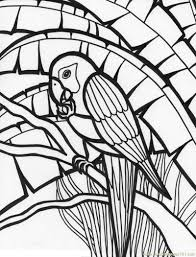 download coloring pages parrot coloring page macaw parrot