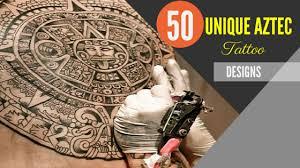 50 unique aztec tattoos for men amazing tattoo ideas