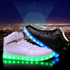 where can i buy light up shoes buy high top usb charging led shoes 7 colors light up shoes sports