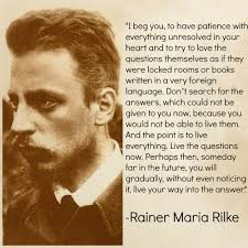 spotlight the poetry of rainer maria rilke