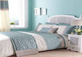 Blue And Brown Bedroom by Warm And Fresh Bedroom With Duck Egg Blue And Brown Bedding Duck