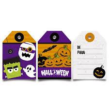 cromus halloween tag de para 12 unidades