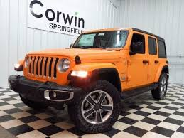 orange jeep wrangler unlimited for sale new 2018 jeep wrangler for sale springfield mo 1c4hjxeg3jw140332