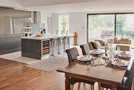 open plan kitchen family room ideas best ideas for kitchen living room combo remix insider