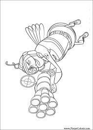 drawings paint u0026 colour bee movie print design 003