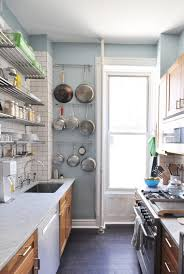 how to design small kitchen one wall kitchen ideas and options