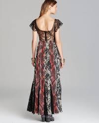 free people wild hearts maxi wild snake size 6 dress on tradesy