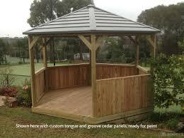 Greenhouse Gazebo Kensington Gazebo 3 585 00 Landera Outdoor Storage Sheds