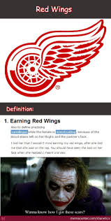 Red Wings Meme - red wings the mark of a determined man by dianetics meme center