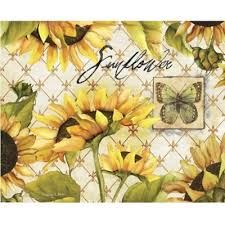 sunflower canisters for kitchen buy sunflower kitchen from bed bath beyond