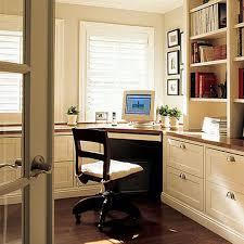 furniture modern beige desk and home office design with minimalist