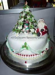Christmas Cake Decorations With Royal Icing by Weddings Gold Coast All Occasions Speciality Cakes Christmas Cakes