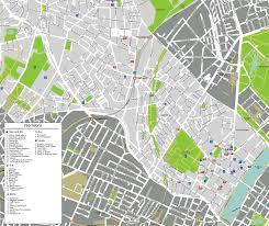 map of copenhagen copenhagen norrebro map mapsof
