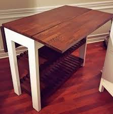 Drop Leaf Pedestal Table Easy Way To Make A Drop Leaf Table Diy How To Painted Furniture