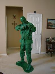 Halloween Costumes Army Toy Green Army Man Halloween Costume 6 Steps Pictures