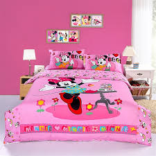 Mickey And Minnie Mouse Bedroom Set Happy Pink Minnie Mouse Bedding Sets Disney Bedding Sets Girls