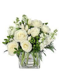 white floral arrangements beautiful winter flower arrangement with cedar white roses