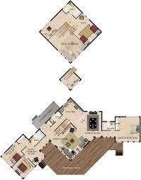 sandpiper lodge floor plan observation deck house plans