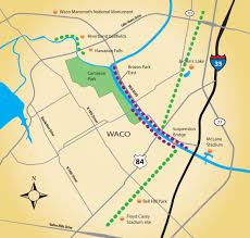 Mammoth Map Mammoth Site River Old Railroads Seen As Key To Future Waco