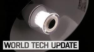 led light bulb speaker sony s new smart light bulb is also a speaker youtube