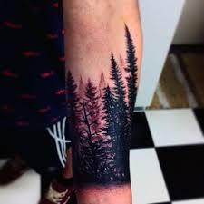 cool s pine tree tattoos on wrist pine
