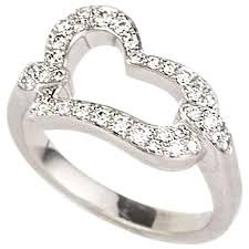 piaget ring piaget diamond set heart ring for sale at 1stdibs