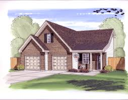 House Plans With Three Car Garage 2 Car Garage Plans From Design Connection Llc House Plans