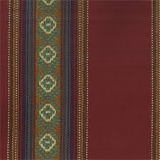 Upholstery Fabric Southwestern Pattern Ddr 05 Sandoval Serape Chili Red Southwestern Stripe Cotton