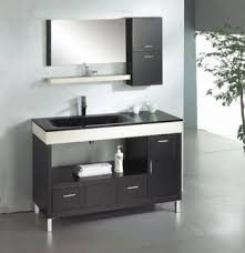 Modern Bathroom Cabinets 48inc Modern Bathroom Cabinet S896 From Black Bathroom