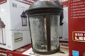 altair outdoor led coach light costco costco sale altair lighting outdoor led lantern 29 99 frugal hotspot
