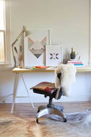 Diy Desk Ideas by Diy A 75 Desk With A Stealth Touch Of Glamor Remodelista