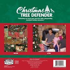 amazon com christmas tree defender u0026 potted plant protector 48